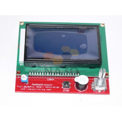 Fully graphical LCD Display 12864
