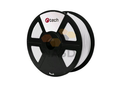 C-TECH PET-G WHITE 1.75 mm 1 kg (C-TECH PET-G WHITE 1.75 mm 1 kg)