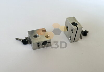 CR10S for heating aluminum cube