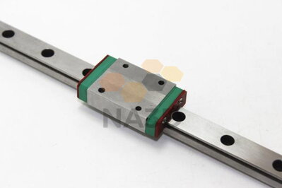 Linear guide carriage with MGN