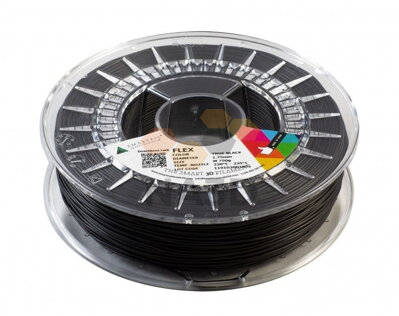 FLEX black 1.75 mm filament coil SmartFile: 0.33 kg