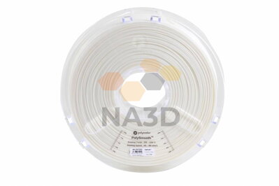 PolySmooth snow white filaments 1.75 mm 750 g Polymaker
