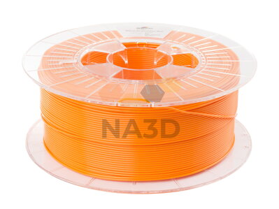 PLA filament Lion Spectrum Orange 1.75 mm 1 kg