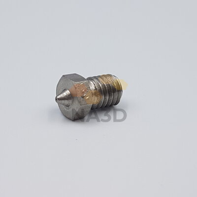 Hardened nozzle M6 Czech production of 0.3 / 1.75