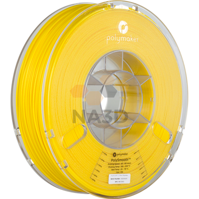 PolySmooth filament yellow Polymaker 1.75 mm 750 g