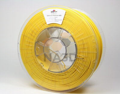 Filament SPECTRUM ABS SMART Bahama Yellow 1.75 mm 1 kg