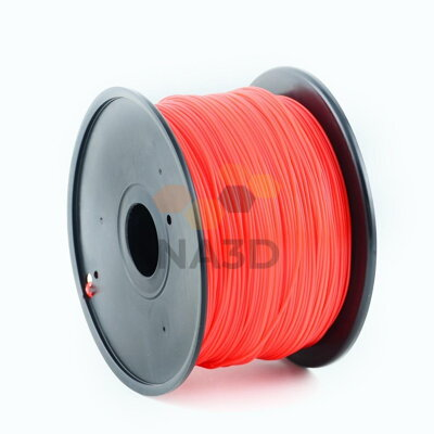 Gembird ABS 1.75 mm Red 1 kg