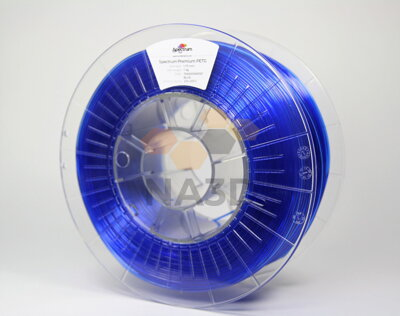 SPECTRUM PETG TRANSPARENT BLUE 1.75 mm 1 kg