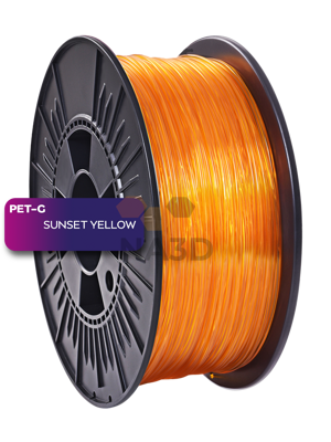 NEBULA PETG Sunset Yellow 1.75 mm 1 kg (PETG NEBULA Sunset yellow 1.75 mm 1 kg)